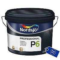 Матовая акриловая краска для стен PRO P6 , 10 л (белый wh)