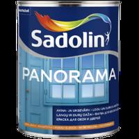 Краска для окон и дверей на водной основе PANORAMA, 6 x 1л (белый wh)