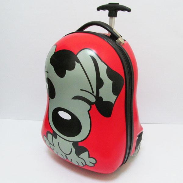 """Детский пластиковый чемодан  """"Dog"""""""