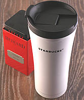 Термочашка Starbucks 450мл. Металл кружка Старбакс