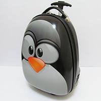 """Детский пластиковый чемодан  """"Пингвин"""""""