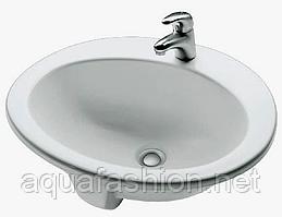 Встроенный умывальник 60 см Hatria Ovaline Y671