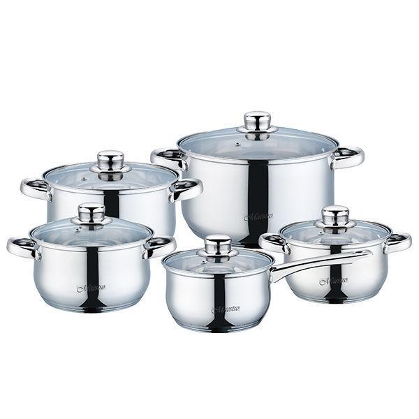 Набор посуды 10пр. Maestro MR 2020