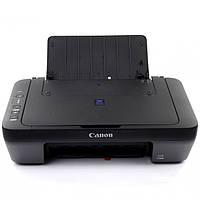 МФУ CANON Pixma E414 Черный струйный принтер сканер копир 4800 dpi печать сканирование для школьника студента