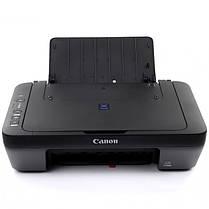 ✤МФУ CANON Pixma E414 струйный принтер сканер копир 4800 dpi печать сканирование для школьника студента, фото 2