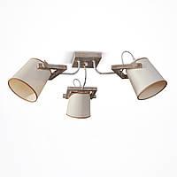 Люстра припотолочная с абажуром на 3 лампочки SG - 20203/3