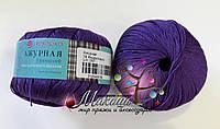 Пряжа Ажурная Пехорка, 78, фиолетовый