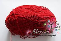 Стоковая пряжа для вязания - анти-пиллинг, красный, 400 грамм
