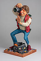 Статуэтка скульптора Guillermo Forchino - Фотограф THE PHOTOGRAPHER   39 см.