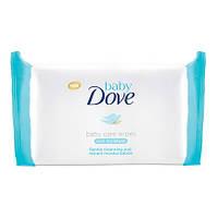 Dove салфетки влажные Sensitive, 50 шт.