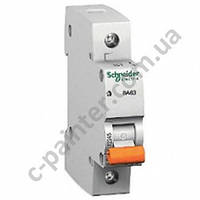 Автоматический выключатель  Schneider Electric ВА63 25А 1P С 11205