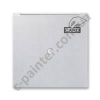 Центральная панель карточного (гостиничного) выключателя одинарная ABB Neo Титан 3559M-A00700 08