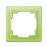 Рамка на 1 пост ABB Neo Белый / Зеленый лед 3901M-A00110 42