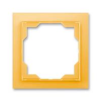 Рамка на 1 пост ABB Neo Белый / Оранжевый лед 3901M-A00110 43
