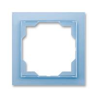 Рамка на 1 пост ABB Neo Белый /Синий лед 3901M-A00110 41