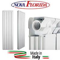 Алюминиевый радиатор Nova Florida Maior S90 1000*10 высота 1000мм, ИТАЛИЯ