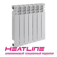 Алюминиевый радиатор HEATLINE M500TITAN 500*96, Китай (вес секции 1,1)