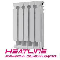 Алюминиевый радиатор HEATLINE M500C 500*75, Китай (вес секции 0,75)