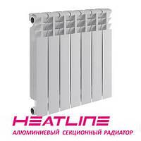 Алюминиевый радиатор HEATLINE M500B 500*80, Китай (вес секции 0,96)
