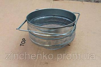 Фильтр для меда круглый оцинкованный 200 мм