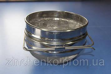 Фильтр для меда круглый 200 мм нержавейка