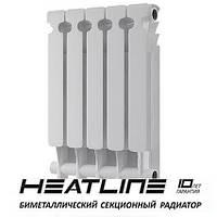 Биметаллический радиатор HEATLINE Extreme  500*96, Китай (вес секции 1,6)