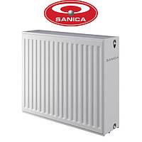 Стальные радиаторы Sanica 33 300*600 Турция (боковое подключение)