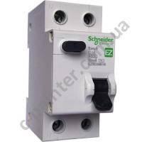 Дифференциальный автоматический выключатель Schneider Electric Easy9 2P 25A 30мA EZ9D34625