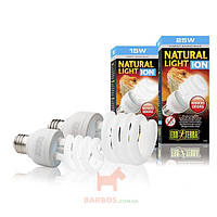 Лампа для террариума Exo Terra Natural Light Ion E27 (Экзо терра, Хаген) Exo-Terra (Hagen) (15 W)