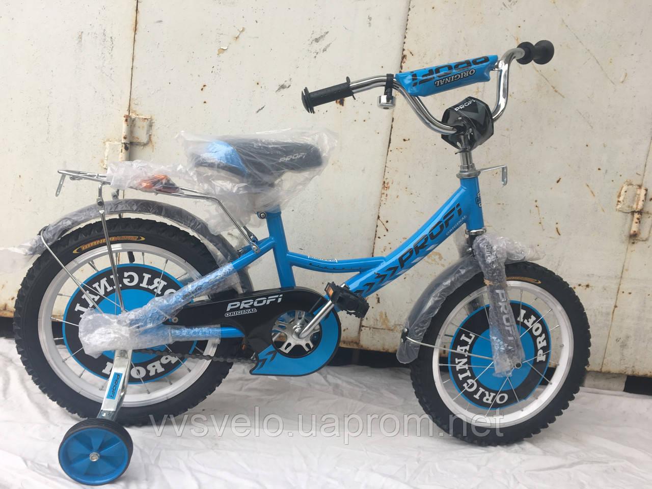 Велосипед детский Profi 16 голубой 2017
