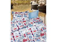 Постельное белье для подростков Lotus Premium B&G - Sailor голубой