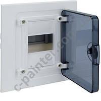 Щит распределительный HAGER GOLF  VF104TD Прозрачная дверца на 4 модуля (встроенный)