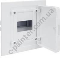 Щит распределительный HAGER GOLF  VF104PD Белаяя дверца на 4 модуля (встроенный)