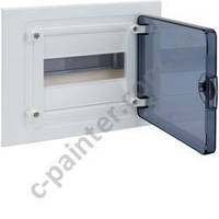 Щит распределительный HAGER GOLF  VF108TD Прозрачная дверца на 8 модулей (встроенный)