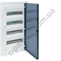 Щит распределительный HAGER GOLF  VF412TD Прозрачная дверца на 48 модулей (встроенный)