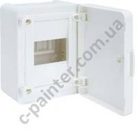 Щит распределительный HAGER GOLF VS104PD Белая  дверца на 4 модуля (навесной)