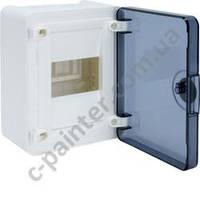 Щит распределительный HAGER GOLF VS108TD Прозрачная  дверца на 8 модулей (навесной)
