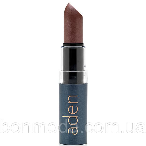 "Aden помада компактная Hydrating lipstick 6 ""Pearly Brown"" № 06"