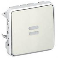 Выключатель с подсветкой с задержкой отключения Legrand Plexo Белый 69604