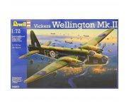 Сборная модель Двухмоторный бомбардировщик Vickers Wellington Mk.II, 1:72, Revell 04903