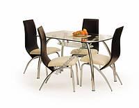 Стеклянный стол Halmar Corwin Bis