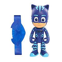Фигурка Кэтбой «Герои в масках» светящаяся с браслетом Just Play PJ Masks Light Up Catboy Figure