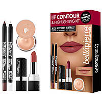 Набор для контурирования губ Bellapierre Lip Contour and Highlighting Kit Natural
