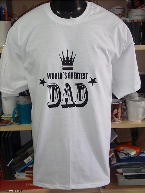 Футболка World Great Dad