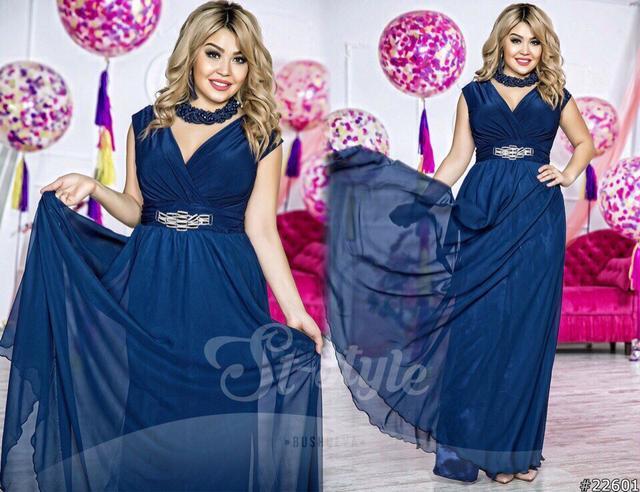 Нарядные и вечерние платья в пол новая коллекция 2017 большие размеры