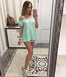 Женская модная летняя блуза прошва (6 цветов), фото 3
