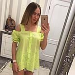 Женская модная летняя блуза прошва (6 цветов), фото 5