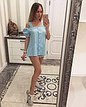 Женская модная летняя блуза прошва (6 цветов), фото 9