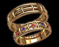 Обручальное кольцо 20010