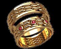 Обручальное кольцо 20007